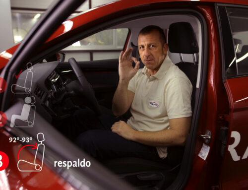 Conducir con una posición correcta